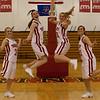 Girls BB Seniors Jump<br /> Kendra Kovash, Danielle O'Donnell, Ashley Sickler, Libby Forster