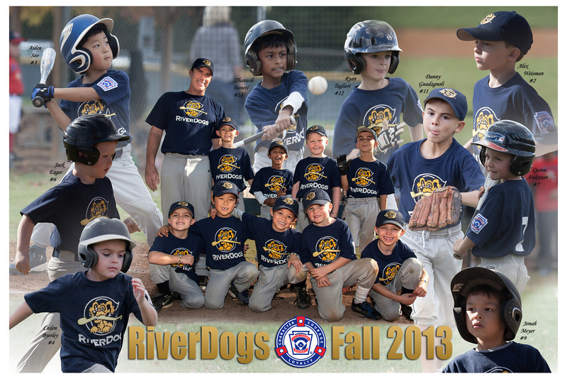What a fun poster to put together...I wasn't sure if there were enough unique shots for each boy, but as it turned out plenty were available and they looked great!<br /> <br /> Over the years of shooting, I've clearly seen that the teamwork and friendships established in youth sports are very strong and form lasting bonds in our boys.  Posters like these are treasure troves of the fond memories that were made on the field.  With that in mind, I always strive to capture the spirit and excitement of the game.  I'm sure your boys will have many stories to tell their friends and relatives every time they look at it.