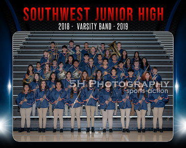 SWJH Team8x10VarBand