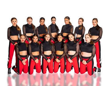 red and black serious