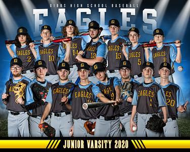 gibbs jr varsity team photo 8x10