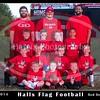 halls Flag red devils