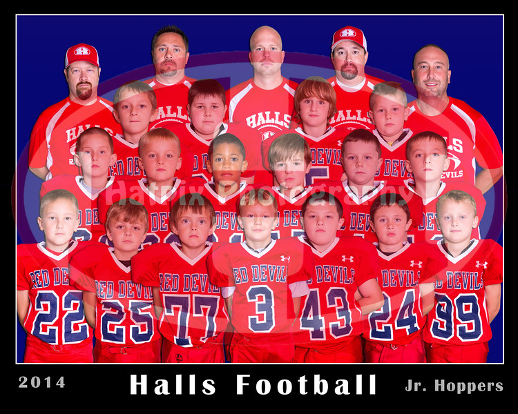 halls jr hoppers with shadows