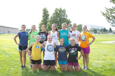 Gering Girls Cross Country Team