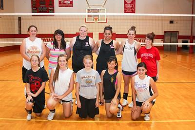 Minatare Girls Volleyball Team