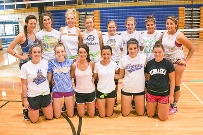 Gering Girls Volleyball Team
