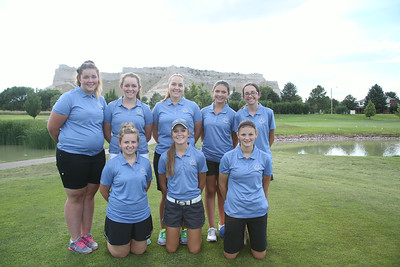 Gering Girls Golf  Front Row (L-R):  1.   2.  3.   Back Row (L-R):   4.  5.  6.  7.  8.