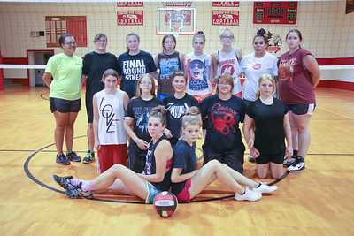 Minatare Volleyball  Front Row (L-R):  1. Tristen Wecker  2.  Middle Row (L-R):   3.   4.  5.  6.  7.  Back Row (L-R):  8.   9.   10.   11.   12.   13.  14.    15