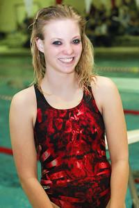 Macrissa McCoy 2012 Scottsbluff/Gering Swimming and Diving Team