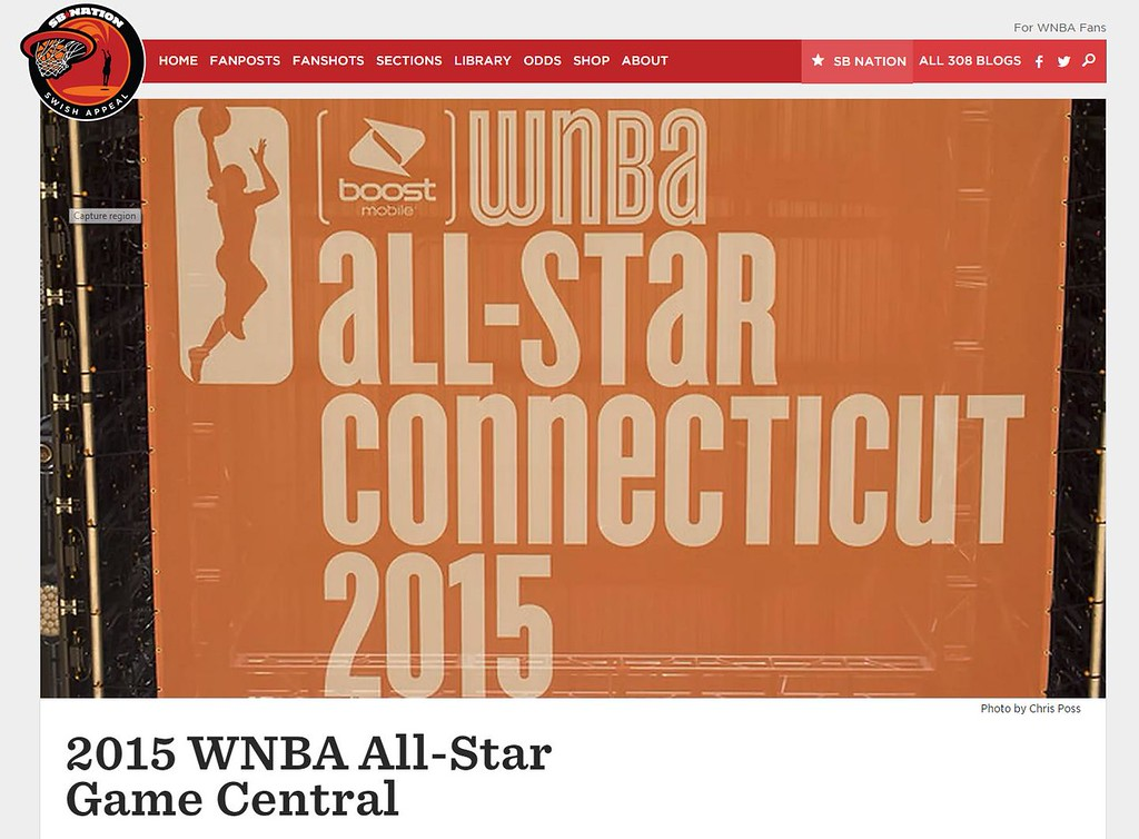 Swish Appeal 2015 WNBA All Star Game Coverage