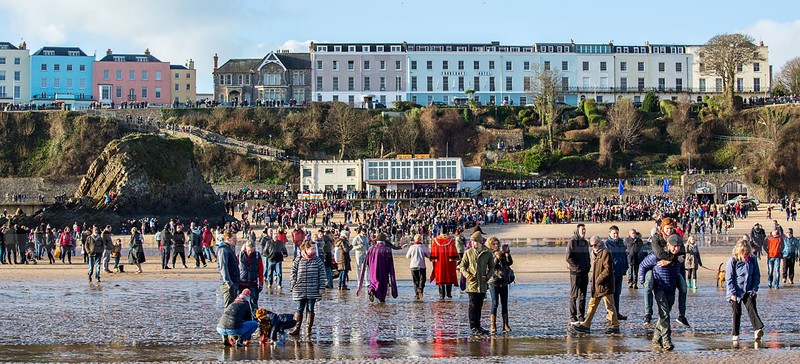 Tenby Boxing Day Swim, 2016