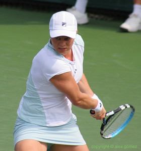 Kim Clijsters (BEL) - 2005 NASDAQ-100 Open Women's Champion