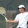 DB First Doubles player Matt Clark. Photo by Erica Yoon