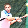 Chad Sheppard of Gate City plays in the final championship singles round at UVA-Wise. Photo by Erica Yoon