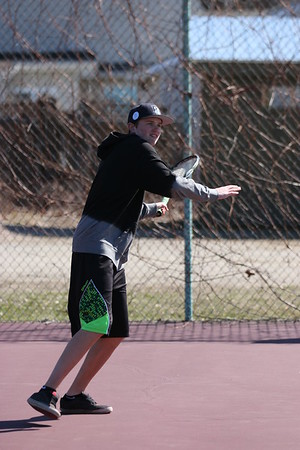 2016 Tennis Boys vs CVU 04.15