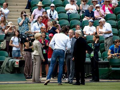Two legends, John McEnroe and Bjorn Borg