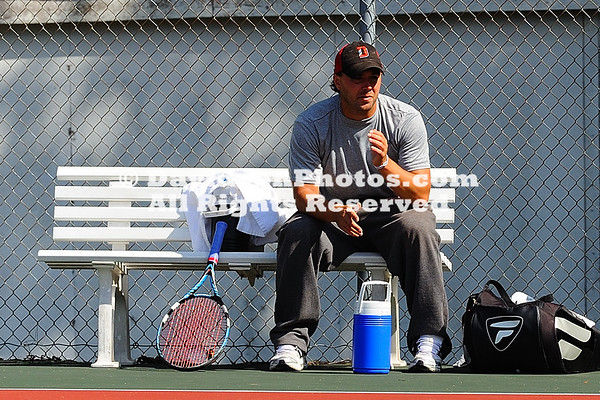 30 September 2011:  Davidson men's tennis participates in the Jeff Frank Invitational at Covington Tennis Courts in Davidson, North Carolina.