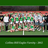 8 x10 Collins Hill Tennis Boys &  Girls Varsity