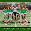 8 x10 Collins Hill Tennis Girls Varsity 18