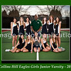 8 x10 Collins Hill Tennis Girls Junior Varsity