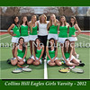 8 x10 Collins Hill Tennis Girls Varsity 16