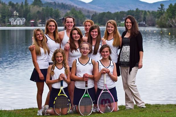 2012 Girls Tennis
