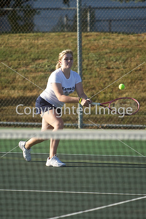 2013-09-10 JFK Tennis Girls Varsity @ JEF