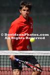 NCAA TENNIS:  APR 09 Furman at Davidson