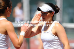 NCAA WOMENS TENNIS:  APR 12 UNC Greensboro at Davidson