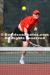 NCAA TENNIS:  MAR 25 UNCG at Davidson