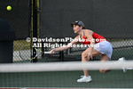 NCAA WOMENS TENNIS:  JAN 31 Gardner-Webb at Davidson