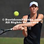 NCAA WOMENS TENNIS:  FEB 25 Appalachian State at Davidson