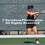 NCAA WOMENS TENNIS:  FEB 18 Davidson at Elon