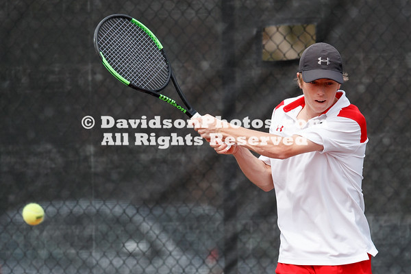 NCAA Mens TENNIS:  MAR 13 Elon at Davidson