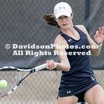 NCAA Womens TENNIS:  APR 06 Davidson at UNC Charlotte