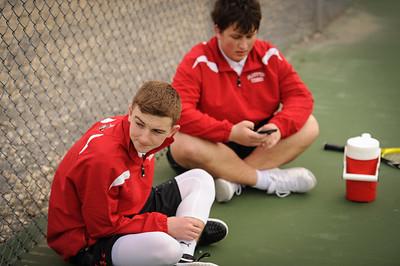 3-26-18 BHS boys tennis - Freshman - Eden Nygaard and Grant Klinger-1