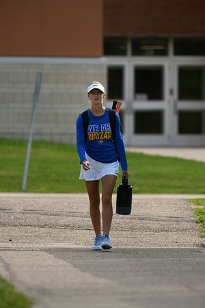 2019 Wayzata Girls Varsity Tennis vs. Breck