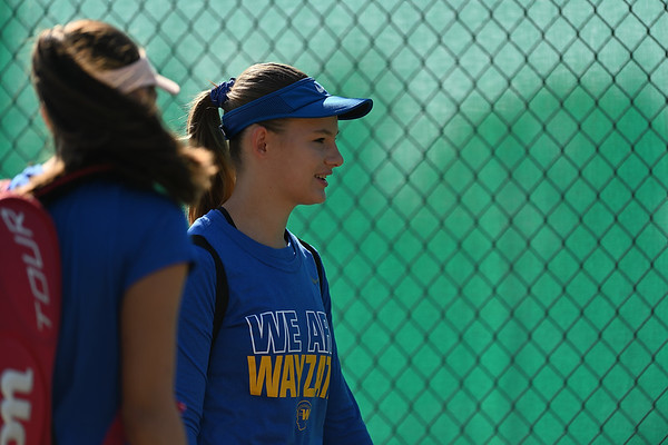 2019 Wayzata Girls Varsity Tennis vs. Eden Prairie