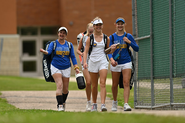 2019 Wayzata Girls Varsity Tennis vs. Saint Michael-Albertvile