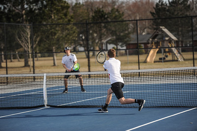 3-27-19 Bluffton HS Boys tennis vs Elida (Eden Nygaard and Grant Klinger 10th grade)-24