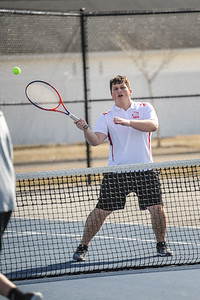 3-27-19 Bluffton HS Boys tennis vs Elida (Eden Nygaard and Grant Klinger 10th grade)-7