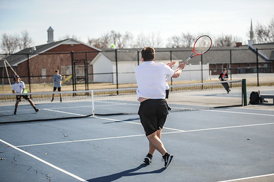 3-27-19 Bluffton HS Boys tennis vs Elida (Eden Nygaard and Grant Klinger 10th grade)-11