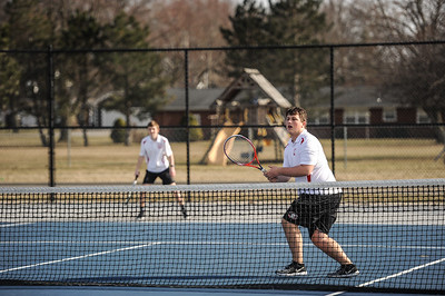 3-27-19 Bluffton HS Boys tennis vs Elida (Eden Nygaard and Grant Klinger 10th grade)-22