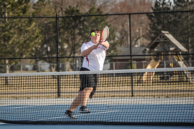 3-27-19 Bluffton HS Boys tennis vs Elida (Eden Nygaard and Grant Klinger 10th grade)-20