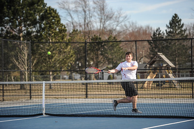 3-27-19 Bluffton HS Boys tennis vs Elida (Eden Nygaard and Grant Klinger 10th grade)-21