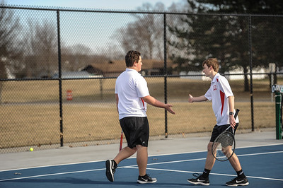3-27-19 Bluffton HS Boys tennis vs Elida (Eden Nygaard and Grant Klinger 10th grade)-29