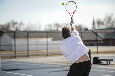 3-27-19 Bluffton HS Boys tennis vs Elida (Eden Nygaard and Grant Klinger 10th grade)-12
