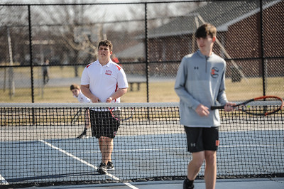 3-27-19 Bluffton HS Boys tennis vs Elida (Eden Nygaard and Grant Klinger 10th grade)-2