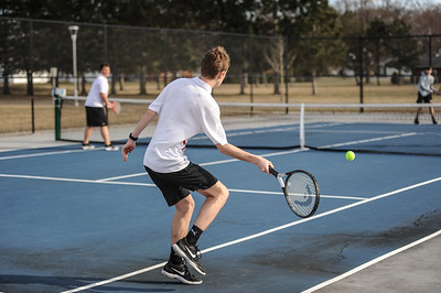 3-27-19 Bluffton HS Boys tennis vs Elida (Eden Nygaard and Grant Klinger 10th grade)-30