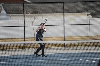 3-27-19 Bluffton HS Boys tennis vs Elida (Eden Nygaard and Grant Klinger 10th grade)-27